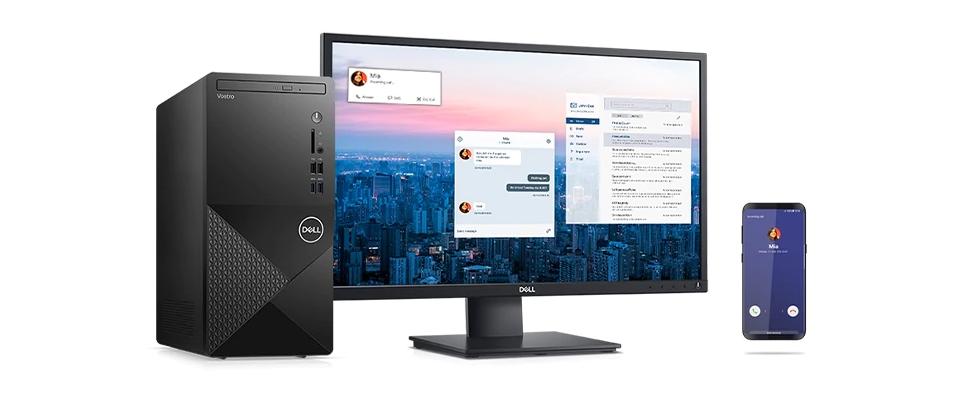Hợp nhất các thiết bị của bạn với Dell Mobile Connect